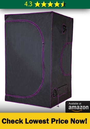 Apollo Horticulture 48u201dx48u201dx80u201d Mylar Hydroponic Grow Tent for Indoor Plant Growing u2013 Featured in Amazonu0027s Choice for 4X4 marijuana grow tent : best 4x4 grow tent - memphite.com