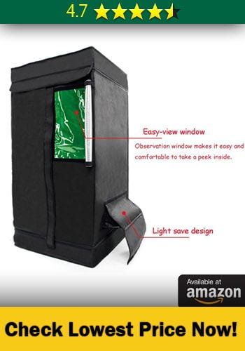 This best small grow tent has 4.7 star reviews by 140 happy customers which is really good considering it is a cheap grow tent. If you are looking to buy a ... & Top #15 Best 2x2 3x3 u0026 4x4 Small Grow Tents - [ Complete Review ]