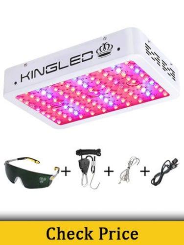 King Plus 1000w LED Grow Light Double Chips Full Spectrum reviews
