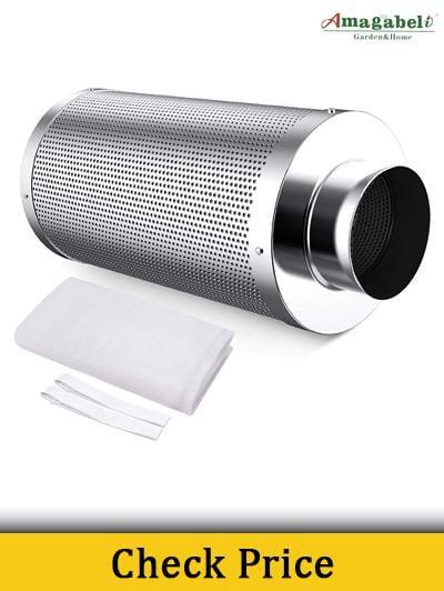 Amagabeli 4-inch Carbon Filter