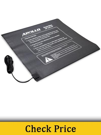 Apollo Horticulture 20 x 20.75 Seedling Heating Mat for Propagation and Cloning
