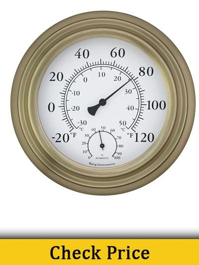 Bjerg Instruments Thermometer and Hygrometer