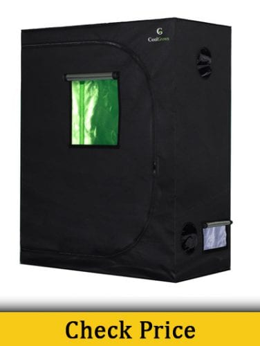 CoolGrows 24 x 24 x 48 Grow tent Review