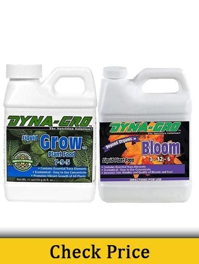 Dyna-Gro Liquid Grow & Liquid Bloom 8oz - Best Nutrients For Growing Cannabis