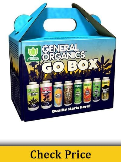 General Hydroponics General Organics Go Box - Best Nutrients For Growing Cannabis