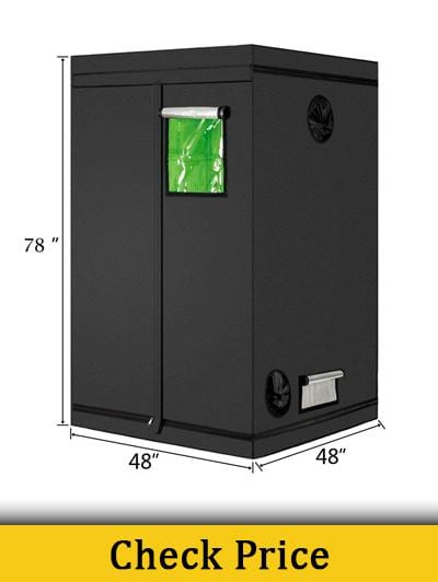 Oshion 48 x 48 x 78 Grow Tent review
