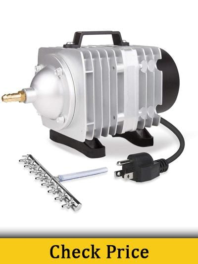 VIVOSUN Air Pump 1110 GPH 8 Outlet 50W 70L per min