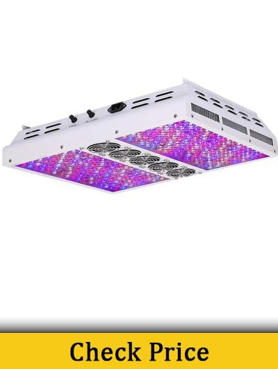 5 Best LED Lights For 4' x 4' Grow Tent Review 2019