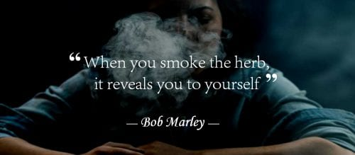 bob marley quote about marijuana