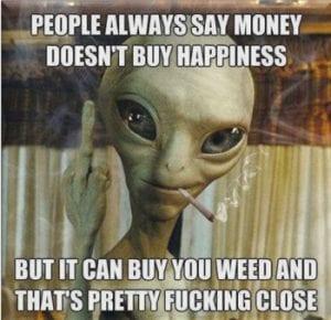 cannabis induce euphoria