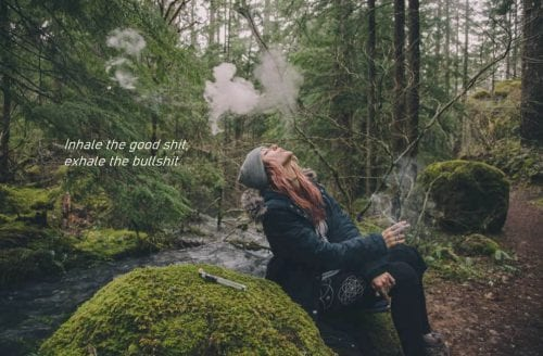 inhale weed quote