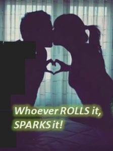 roll it spark it - cannabis arousal male orgasm