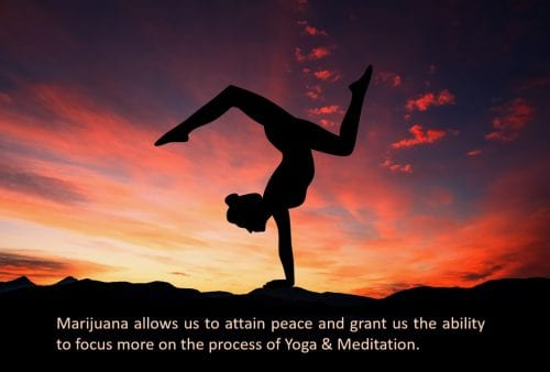 yoga meditation and marijuana