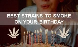 best strains to smoke on your birthday