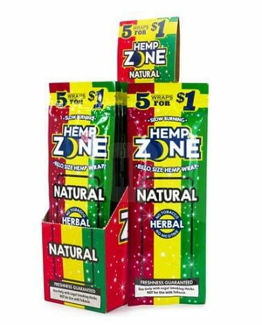 Hemp Zone Natural Wraps